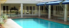 Glass Pool Fence and Balustrade Galleries Glass Pool Fencing, Pool Fence, Gold Coast, Brisbane, Aqua, Gallery, Outdoor Decor, Home Decor, Water