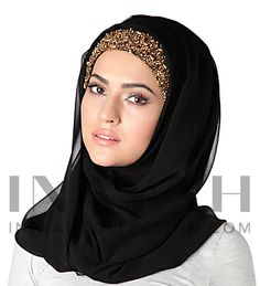 Beautiful hand embroidered and hand crafted hijab ll www.inayahcollection.com