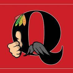 Q-stache #Blackhawks