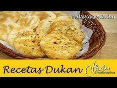 Galletas Saladas de Aperitivo (Crucero) | Recetas Dukan Maria Martinez