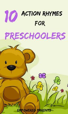 Sing these fun action rhymes with your children and build their gross motor skills and auditory skills. Preschool Action Songs, Preschool Music, Toddler Learning Activities, Preschool Activities, Teaching Kids, Kids Learning, Listening Activities, Action Songs For Toddlers, Preschool Assessment