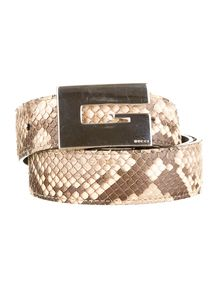 Gucci Snakeskin Belt