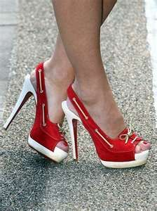 I'm So buying some of these....nothing cooler than high heeled sneakers