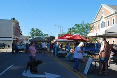 Saturday is Market Day at Henry County Farmers' Market in New Castle, Indiana 8am - noon at 100 South Main Street in front of the courthouse   http://farmersmarketonline.com/fm/HenryCountyFarmersMarketIN.html
