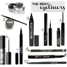 Fabulously Average, The Best Eyeliners