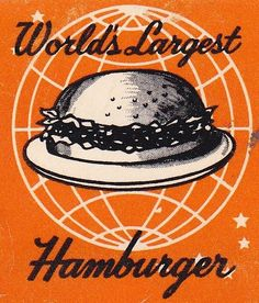 Mel's Drive-In World's Largest Hamburger by hmdavid, via Flickr