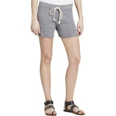 Nation Ltd. Womens Stretch Solid Casual Shorts