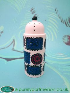 Portmeirion Talisman Sifter, Pink and Blue