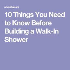 How To Build A WalkIn Shower Part Wedi Shower Pan Shower - Bathroom layout ideas walk in shower