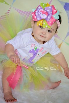 My First Easter Bunny Tutu Set