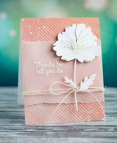 Love this Beautiful card created by Heather Hoffman using Simon Says stamp Exclusives.
