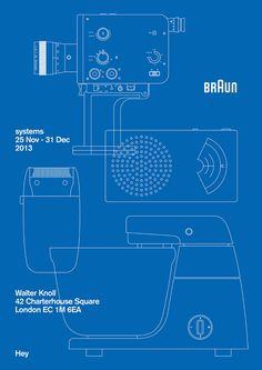 Braun Design Expo Poster via Muzze