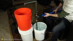 (could use this to pump water out of duck pond!) How to Make a PVC Hand Pump to Move Water, Compress Air, & Create Vacuum « Hacks, Mods & Circuitry Diy Water Pump, Diy Aquarium, Gold Prospecting, Pvc Projects, Moving Water, Water Walls, Compressed Air, Vacuum Pump