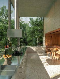 Risultati immagini per zumthor house haldenstein Home Interior Design, Exterior Design, Interior And Exterior, Interior Livingroom, Interior Modern, Interior Paint, Room Interior, Minimalism Living, Architecture Design
