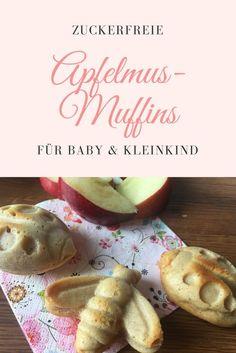 Mit Apfelmus könnt ihr wunderbare Muffins backen, für die ihr keinen weiteren Zucker braucht. Die zuckerfreien Apfelmusmuffins sind sehr weich und saftig und eignen sich ideal für das Baby und Kleinkind im Rahmen der Beikost oder als Fingerfood beim Babyledweaning (BLW). Hier geht es zu meinem Back-Rezept: http://www.breirezept.de/rezept_kleine_apfelmusmuffins_mit_zimt.html