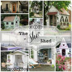 she shed and craft rooms inspiration, craft rooms, crafts, outdoor living
