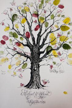 Thumbprint-Tree-Unique-Wedding-Guest-Book-2