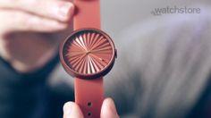 Designer Benjamin Hubert talks about his Plicate watch for NAVA in this exclusive video for Dezeen Watch Store. The product is available at www.dezeenwatchstore.com