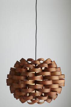 """Bamboo Pendant Lamp - The Museum Shop of The Art Institute of Chicago 14""""x20""""diam. $238"""
