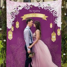 Wedding Backdrop tapestry adds the perfect touch to your wedding event in less than 10 seconds! Just hang it and your done! Whether its a backdrop for your dessert table or used in photo shoots your guaranteed to get lots of compliments Wedding Bible, Wedding Art, Trendy Wedding, Wedding Signs, Boho Wedding, Wedding Events, Wedding Ideas, Weddings, Wedding Centerpieces