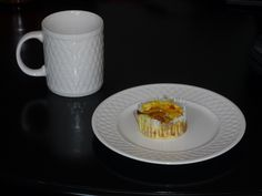 Egg White Omelet Muffins: Mix together 6 egg whites or 6 whole eggs and what ever veggies and seasonings you like in an omelet (spinach, green peppers, onion, chives, turkey bacon, cheese). Pour in muffin tins and cook at 350 degrees for 20-25 minutes.  Makes approx 24.  Great to cook in advance and re-heat for a quick on the go breakfast!