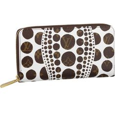 d782c73f4e24 Louis Vuitton Yayoi Kusama Collection Monogram Pumpkin Dots Zippy Wallet -  Jaune I will have this.