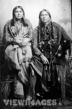 "Quanah Parker | www.American-Tribes.com - ""This one is supposed to have been taken at Fort Sill in 1875.""  Read more: http://amertribes.proboards.com/thread/593#ixzz3PmaJaNjL"