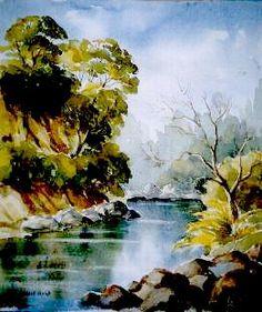 Oil painting by NZ artist, Renee Benner