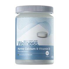 Marine Calcium & Vitamin D Vitamin D Foods, Calcium Vitamins, Sources Of Calcium, Oriflame Cosmetics, Beauty Companies, Natural Vitamins, Healthy Teeth, Packaging Design Inspiration, Wellness