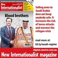 Why is the West cosying up to an ever-more repressive Saudi Arabia? Find out at http://bit.ly/saudi-regime