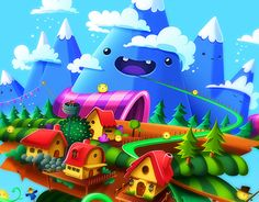 """Check out this @Behance project: """"SkyMath App""""…"""