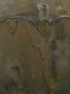 """""""Хрест і песок"""" Техніка: #полотно, #акрил  Розміри: 80х60  #Живопис Рік створення:2015 #acrilyc, #canvas"""