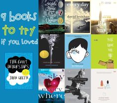 9 Books to Try if You Loved The Fault in our Stars