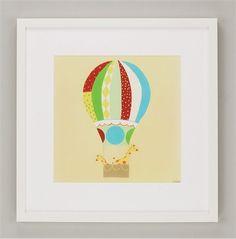 Up, Up & Away II Framed Art #rosenberryrooms