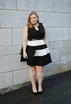 plus size blogger yours clothing dress - Google Search Plus Size Looks, Curvy Plus Size, Plus Size Women, Cute Dresses, Cute Outfits, Curvy Inspiration, Chubby Fashion, Full Figure Fashion, Moda Casual