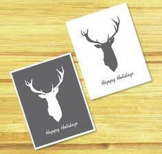 La Espátula Roja: Printable Christmas Cards DIY / Tarjetas de Navidad Imprimibles