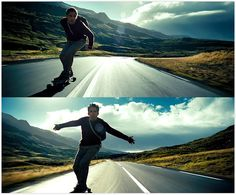 National Go Skateboarding Day; June The Secret Life of Walter Mitty Movie Shots, Movie Tv, Secret Life, The Secret, Life Of Walter Mitty, Travel Movies, Ben Stiller, Surf, Adventure Is Out There