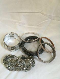 Vintage sorted cuff/ bangle bracelets