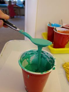 Gooey Paint Recipe from The Artful Child