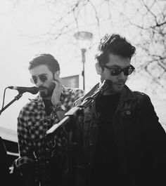 Kyle and Dan #Bastille