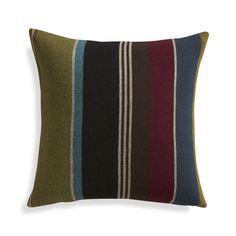 "Woolen Stripe 20"" Pillow  