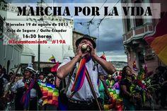 Transmisión en vivo desde #Quito #Ecuador marcha #Levantamiento #ParoNacional