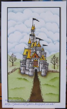 Sample from October 5th Claritystamp Show by Jane Telford