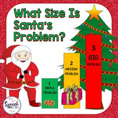 Emotional Regulation: What Size Is Santa's Problem? Ghost Of Christmas Past, Christmas Themes, Social Work, Social Skills, Whole Body Listening, Emotional Regulation, Social Thinking, Activities For Kids, Santa