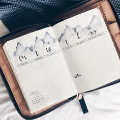 Mountain View Weekly Spread