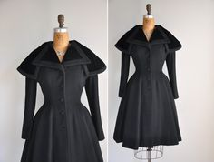 vintage 1940s 40s coat / 40s rare designer by simplicityisbliss, $650.00- It's never to early to shop for Christmas!