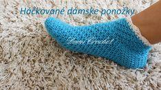 V tomto videu vám ukážem ako na háčkované ponožky pre dospelých. Veľkosti 36-37, 38, 39. Materiál: vlna Elian Nicky, háčik 4,0 mm