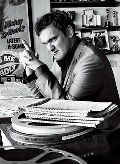 """Quentin Tarantino """"A writer should have this little voice inside of you saying, Tell the truth. Reveal a few secrets here."""""""