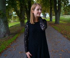 Black lace dress from Envii. See more here: http://www.kathrinerostrup.dk/2013/09/black-lace-dress/