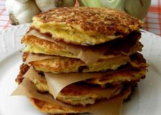 Kedlubnové placky s ovesnými vločkami Pancakes, Okapi, Breakfast, Food, Morning Coffee, Essen, Pancake, Meals, Yemek